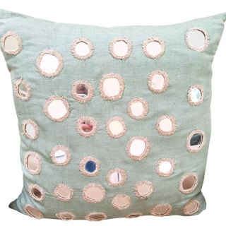 John Robshaw Mirrored Throw Pillow