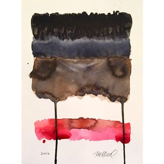 """""""Lipstick"""" Watercolor Painting"""