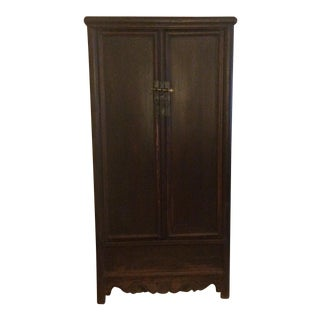 Antique Wooden Chinese Armoire