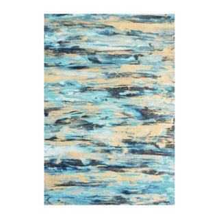 "Unframed Goldleaf on Paper Painting - 18"" x 22"""
