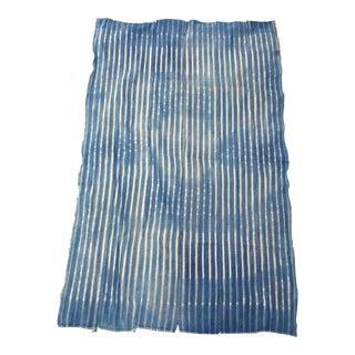 Vintage African Faded Indigo Textile