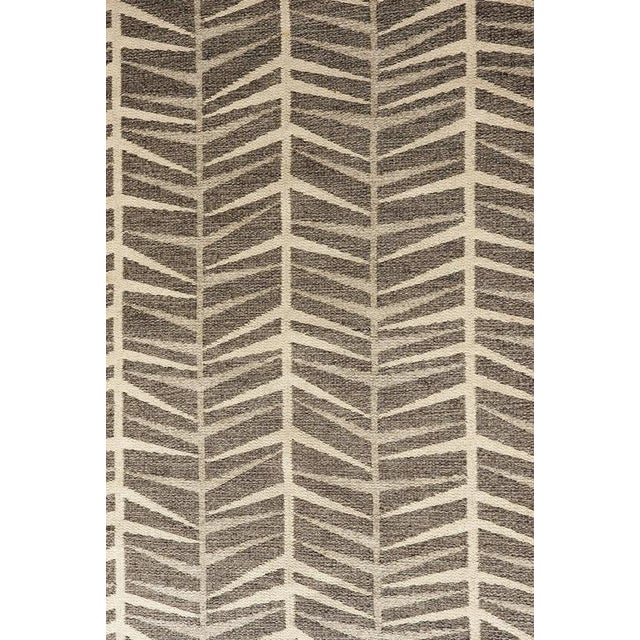 Vintage Ingrid Dessau Flat-Weave Swedish Carpet - Image 2 of 5