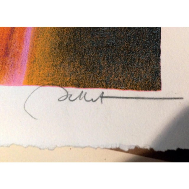 Image of Limited Edition Emile Bellet Serigraphs - a Pair