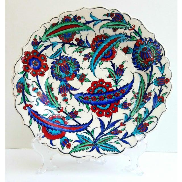 Fine Brush İznik Plate - Image 3 of 6