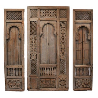 Antique Architectural Indian Window Facade