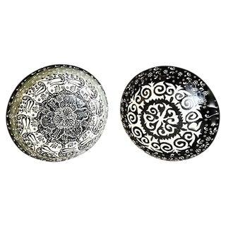Ottoman Turkish Bowls - A Pair