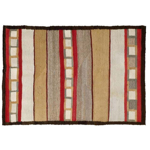 Navajo Style Rug- 3′2″ × 4′8″ - Image 1 of 5