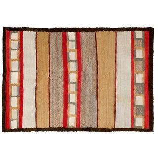 Navajo Style Rug- 3′2″ × 4′8″