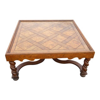 Baker French Country Coffee Table
