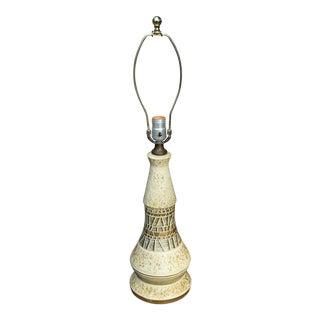 Mid Century Modern Pottery Lamp