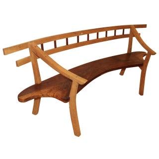Handmade Walnut Bench