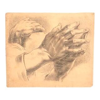 3-Hand Study Drawing