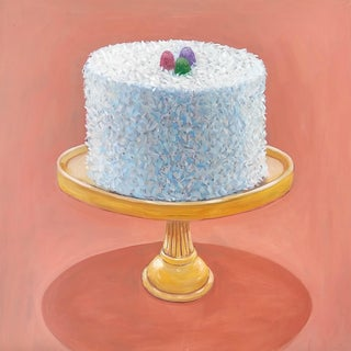 Coconut Cake Print by Paula McCarty