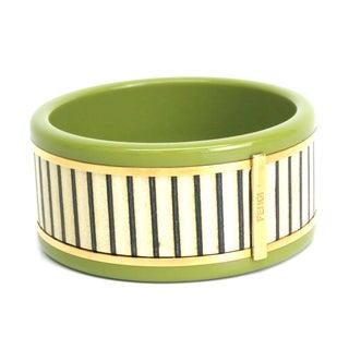 Fendi Plastic Bangle Bracelet