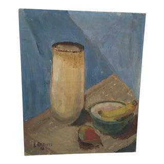 Larrons Mid-Century Still Life Art Painting