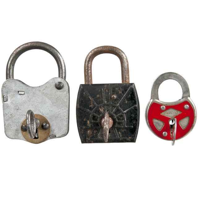 Vintage Padlocks - Set of 3 - Image 1 of 4