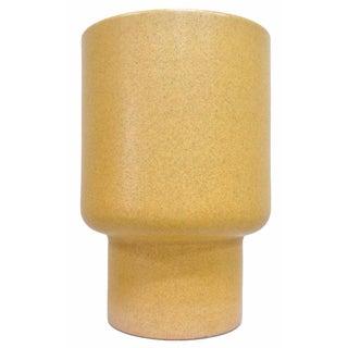 Gainey Ceramics Mustard Glazed Chalice Planter