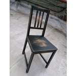 Image of Hand Distressed Wooden Dining Chair - Set of 4