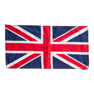 Circa 1940s Vintage British Union Jack Flag