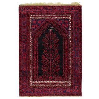 "Antique ""Komurcu"" Prayer Rug"