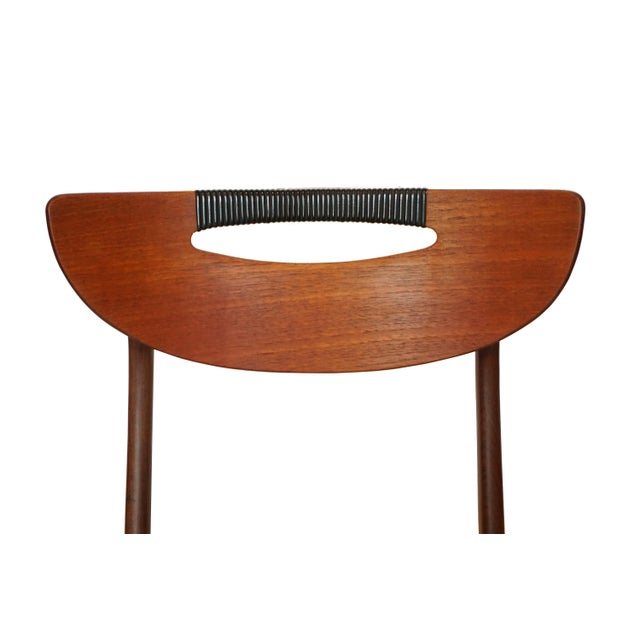 Image of Mid-Century Modern Teak Dining Chairs - Set of 6