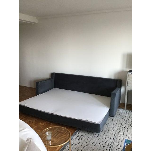 Gus* Modern Flipside Velvet Sofa - Image 9 of 10