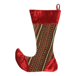 Large Kilim Christmas Stocking | Candy