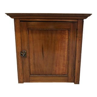 Antique Lift Top Cabinet/Work Box