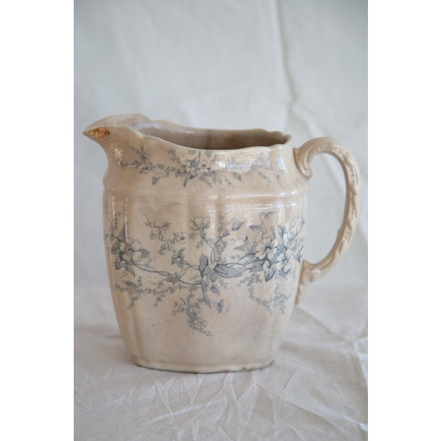 Antique English Transferware Pitcher - Image 4 of 8