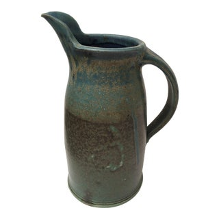 Studio Ceramics Blue Pitcher
