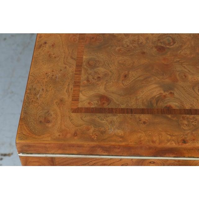 Master Burlwood Dining Table - Image 8 of 11