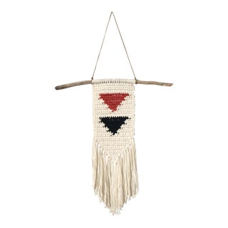 Cotton Crocheted Wall Hanging