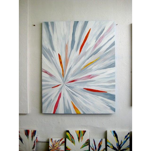 "Image of Original ""Chispa Caliente"" Painting"