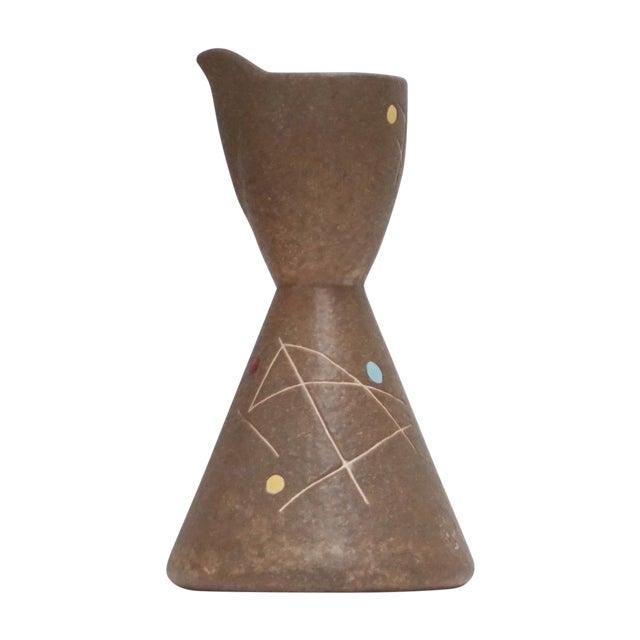 Studio Pottery Mid-Century Ceramic Pitcher - Image 1 of 8