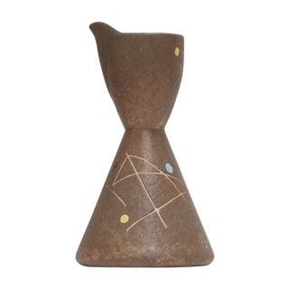 Studio Pottery Mid-Century Ceramic Pitcher