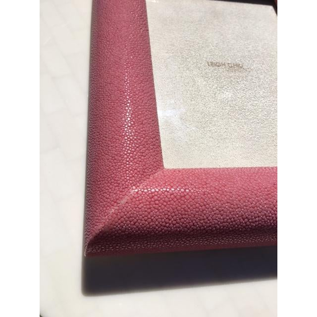 Rose Shagreen Picture Frame - Image 6 of 6