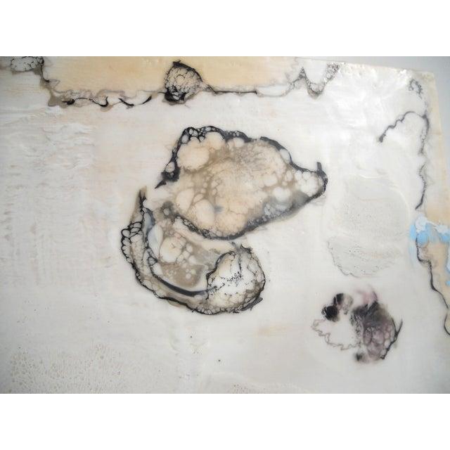 Chrysalis Dawn Modern Encaustic Painting - Image 6 of 6