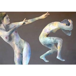 'Duo Effugi Diluvium' Oil Painting