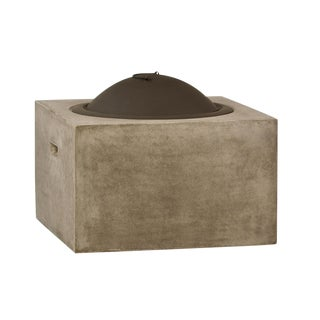 Square Cement Fire Pit