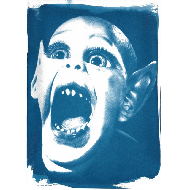 Limited Edition Cyanotype Print- Bat Boy - Image 1 of 4