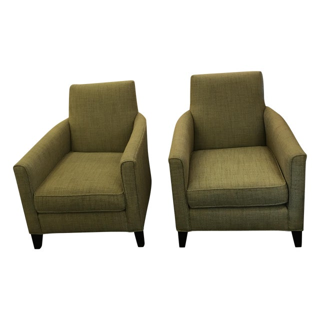 Mitchell Gold Aiden Armchair - a Pair - Image 1 of 8