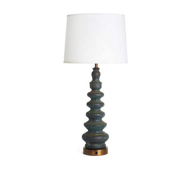 Image of Mid-Century Italian Ceramic Table Lamp