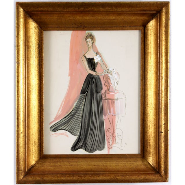 Evening Wear in Black - Image 1 of 4