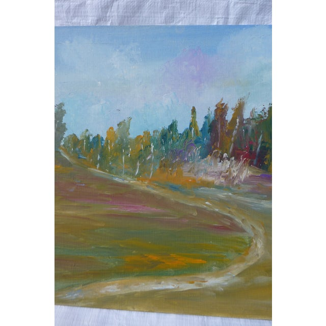 MCM Painting Autumn Path H.L. Musgrave - Image 4 of 6