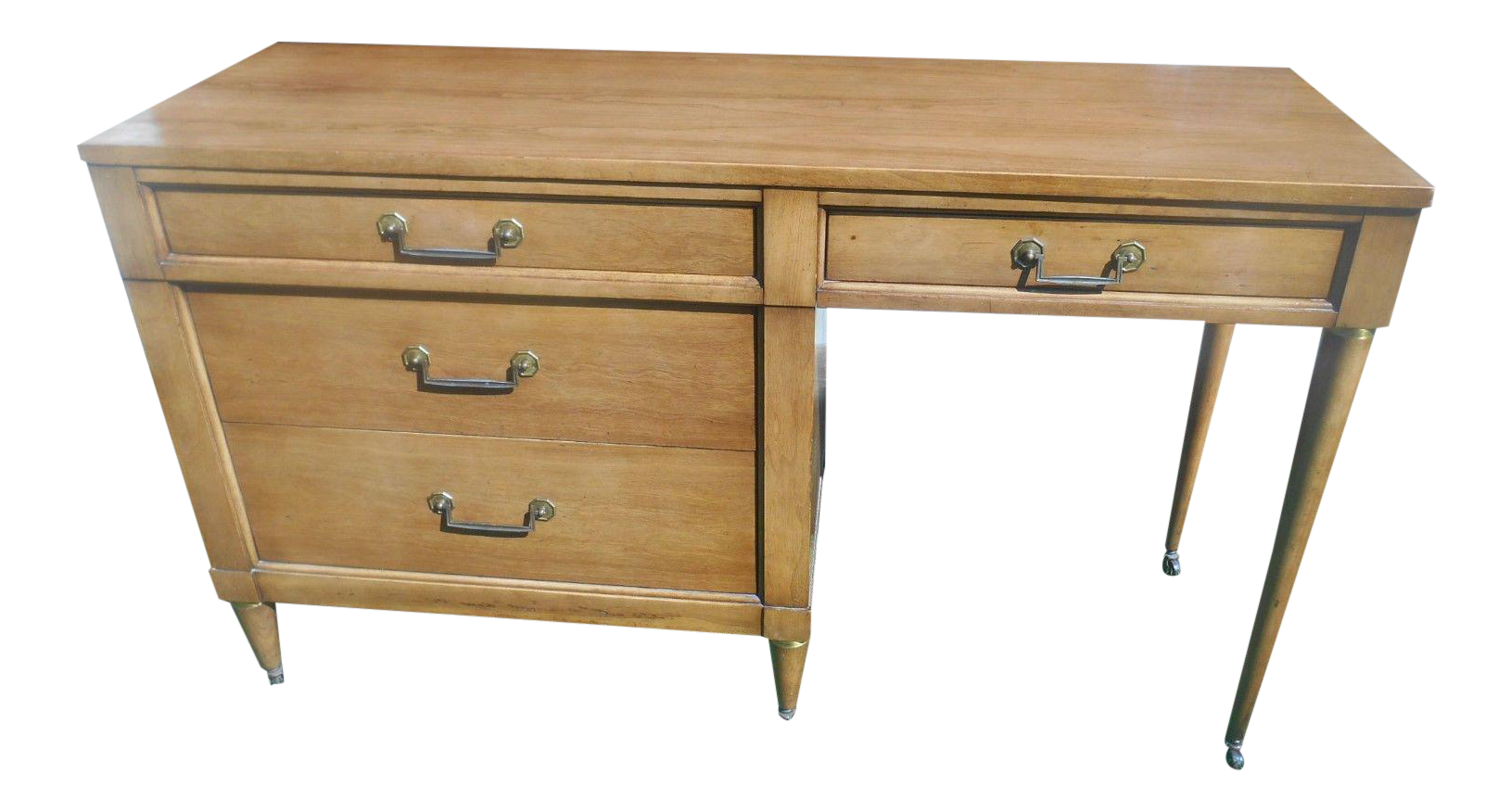 MidCentury Modern Style Desk by Century Furniture Chairish