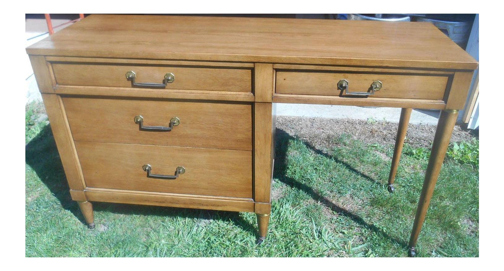 Mid Century Modern Style Desk By Century Furniture