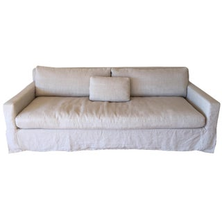 Restoration Hardware Belgian Track Arm Sofa