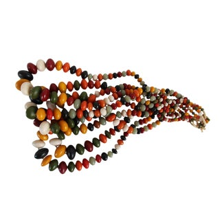 Vintage Kenyan Copal Resin Beads
