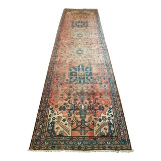 "Antique Wool Persian Rug - 3'5"" X 13'"
