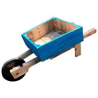 Custom-Made Wheelbarrow Planter